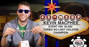 Kevin MacPhee poker