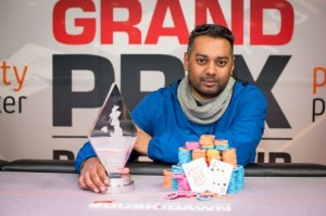 Sunil Mistri wins grand prix poker