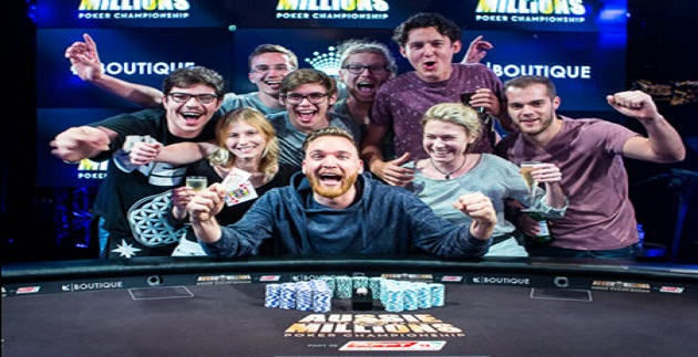 $100K Challenge of 2016 Aussie Million