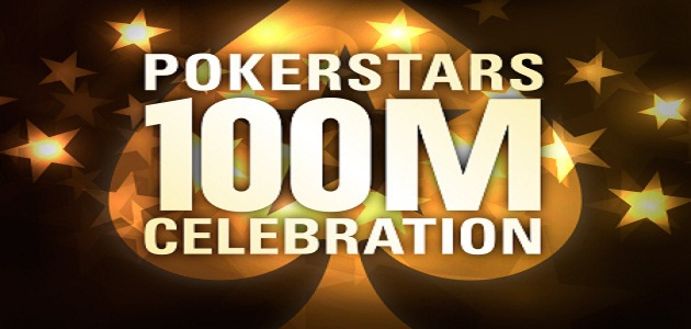 Pokerstars 100 Million players