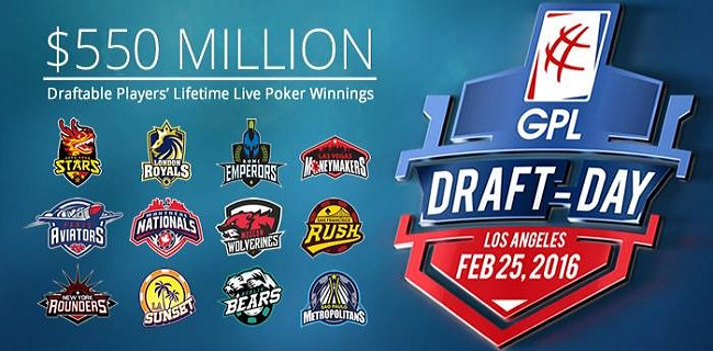 GPL Draft day starts on 25 FEB 2016