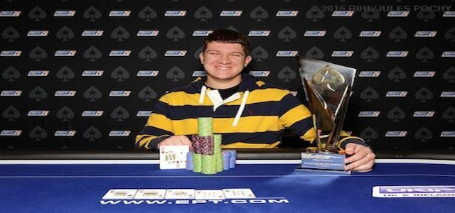 Sam Panzica Wins 10K High Roller at EPT Dublin