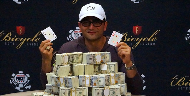 Antonio Esfandiari wins $226,785 at 2016 WSOP Bicycle