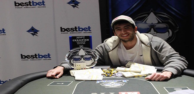 Arthur Andrade wins $112,990 at Mid States Poker tour