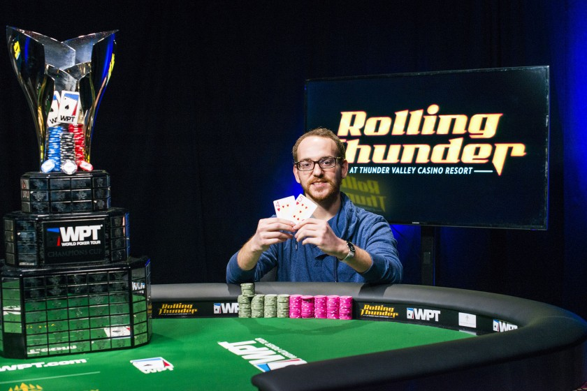 Harrison Gimbel wins WPT Thunder Valley