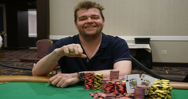 Jason Wheeler Wins WSOP Circuit ring at Bally Casino