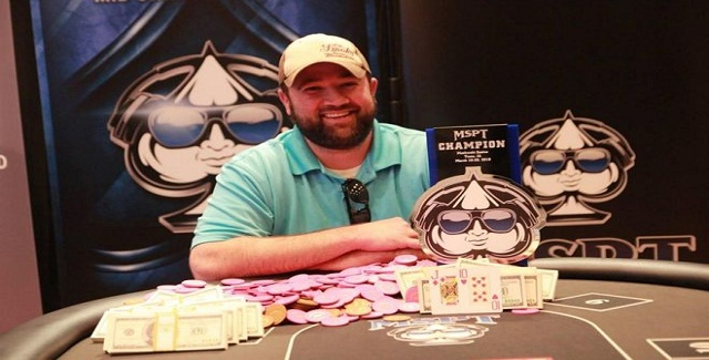 Keith Heine Wins MSPT Meskwaki for $100,981