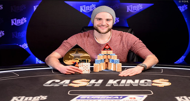 Pius Heinz wins Eureka Poker tour €5,300 Super High Roller.