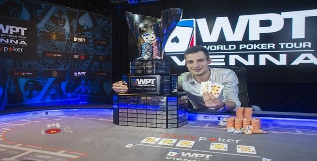 Vlad Darie wins WPt Vienna