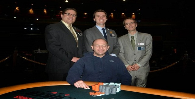 William Luciano wins chicago poker classic