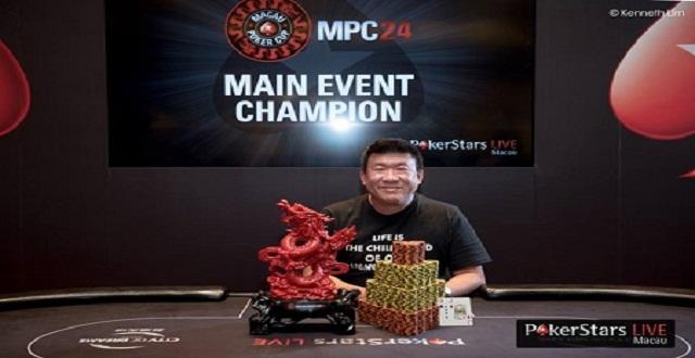 Ying Lin Chua Wins Macau Poker Cup24