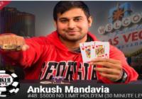 Ankush Mandavia Wins $5K buy in Turbo No Limit Hold'em