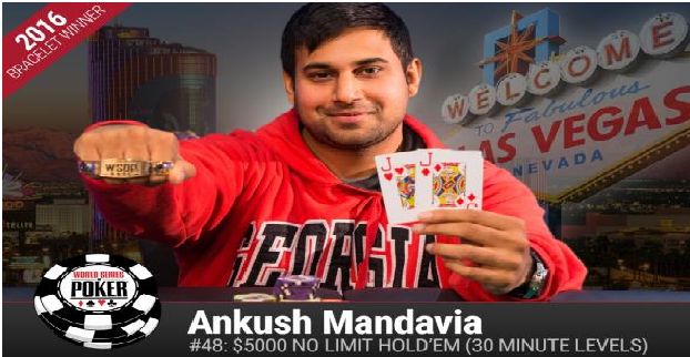 Ankush Mandavia Wins $5K buy in Turbo No Limit Hold'em