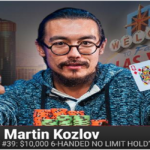 Australian Martin Kozlov wins $10K buy in Six handed No Limit