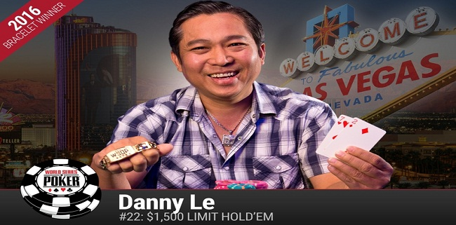 Danny Le grabs his first gold bracelet at WSOP