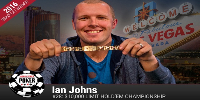 Ian Johns wins Event#28 WSOP for $290,635