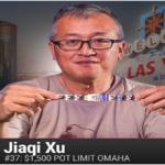 Jiaqi Xu wins $1,500 buy in PLO at WSOP
