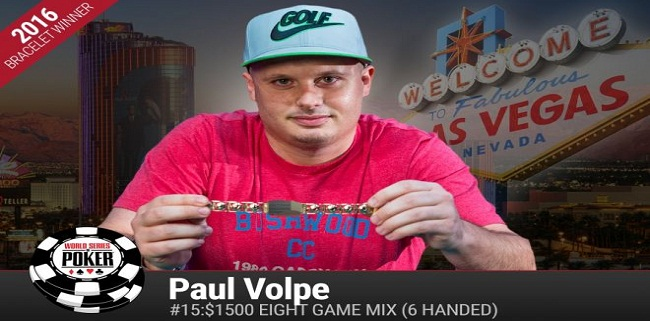 Paul Volpe wins $149,943 at WSOP Event#15