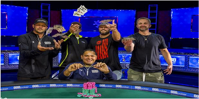 Rafael Lebron Wins $3,000 buy in six handed Limit Hold'em of WSOP