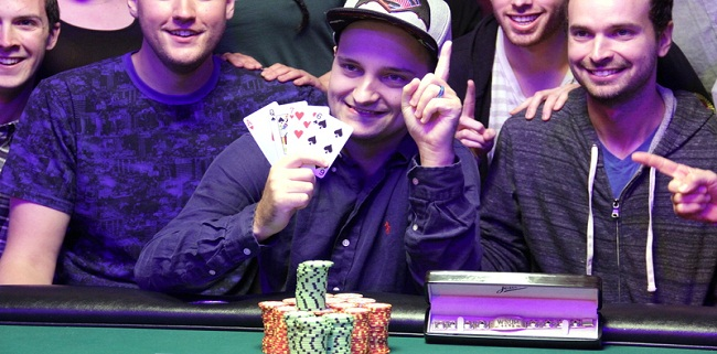 Ryan Laplante Wins event#12 or PLO at WSOP