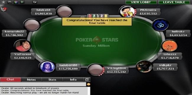 Viking8844 wins sunday million