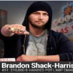Brandon Shack Harris Wins $10K PLO at WSOP
