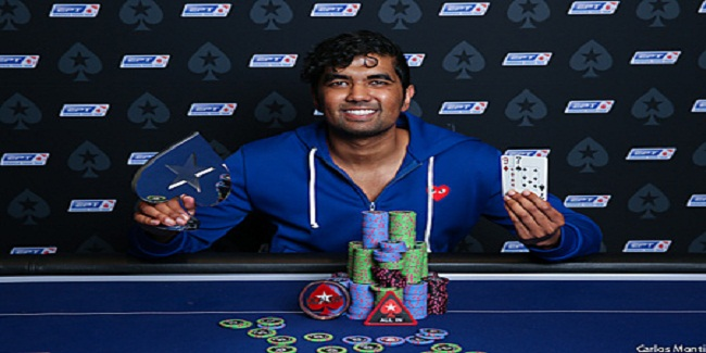 €25K Single Day High Roller of EPT13 Barcelona goes to Pratyush Buddiga