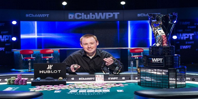 James Mackey Wins WPT Choctaw season XV for $681,758