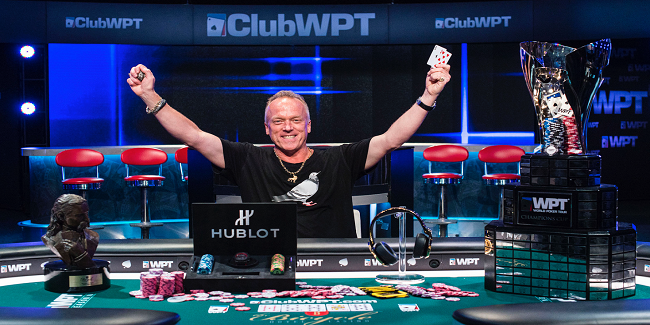 Pat Lyons wins XV WPT Legends of poker collected $615,346