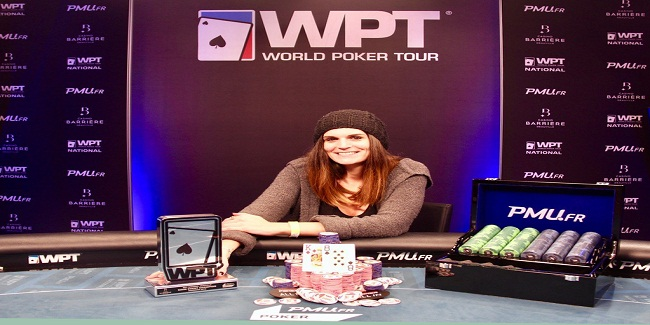 Caroline Fauvel collects title of WPT National Deauville for €87,500