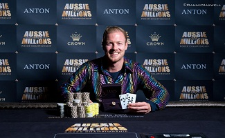 Belgium's Terry Schumacher wins Aussie Million Short handed event:-