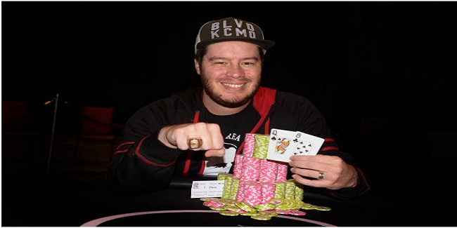Grant Hinkle wins ring of WSOP Choctaw Durant Main Event