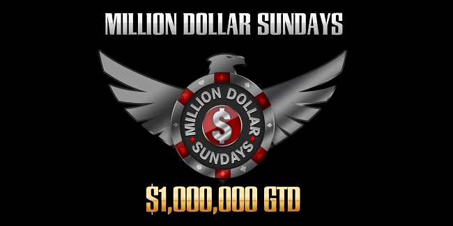 Take part in Million Dollar Sundays at Americas Cardroom