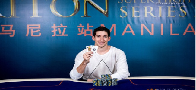 Daniel Colman takes down 2017 Triton Super High Roller