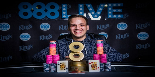 Romania's Catalin Pop wins 888Live Main Event for €80,000
