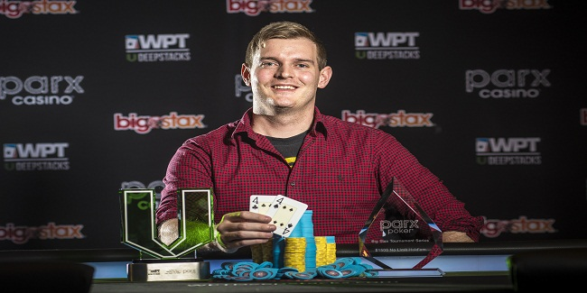 James Poper pocketed $201,991 from WPTDeepStacks Big Stax Main Event