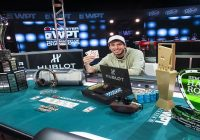 Daniel Weinman Takes down XV Monster WPT Tournament of Champions