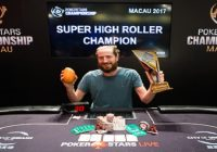 Steve O'Dwyer wins PokerStars Championship Macau Super High Roller