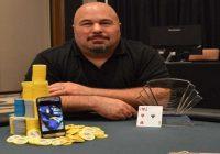 Robert Saladin wins River Casino & Resort's inaugural Capital Region Classic poker event
