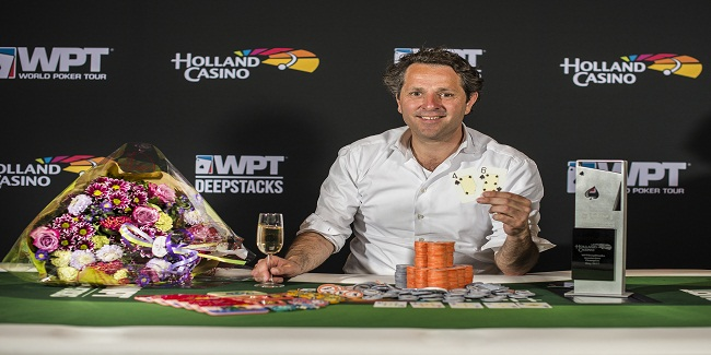 Thijs Menco of Netherlands wins WPTDeepStacks Amsterdam