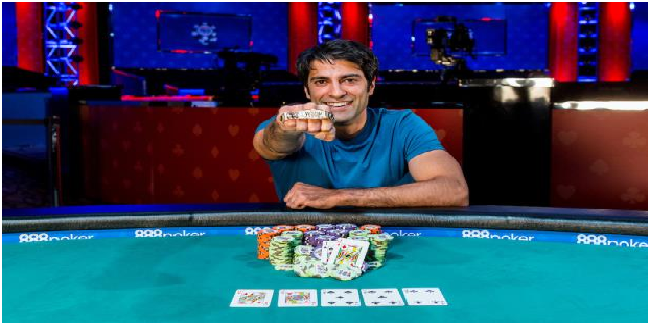 Guarav Raina wins $2,500 No-Limit Hold'em event for $456,822