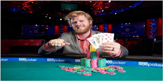 Nathan Gamble wins his first gold bracelet at WSOP for $223,339