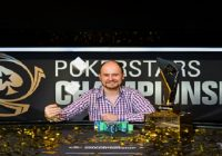 Pavel Shirshikov wins PokerStars Championship Sochi Main Event
