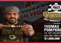 Thomas Pomponio wins Colossus III of 2017 WSOP for $1,000,000