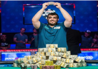 Scott Blumstein becomes champion of 2017 WSOP Main Event