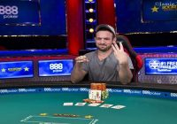 Joe Cada wins 2018 world series of poker $3000 NL Hold'em