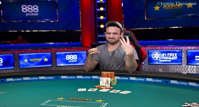 Joe Cada wins 2018 world series of poker $3000 NL Hold'em
