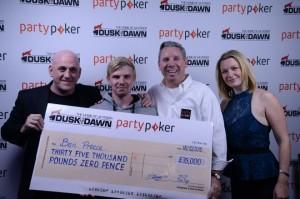 Benjamin Preece wins £35,000 at Inaugural Grand Prix Poker Tour