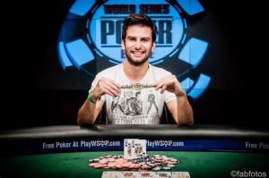 GEORGIOS SOTIROPOLOUS of greece wins gold bracelet at WSOP Europe