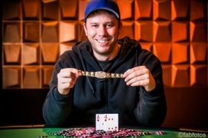 KEVIN MACPHEE earned €883,000 by winning WSOP Europe Main Event